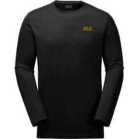 Jack Wolfskin Essential Longsleeve Shirt Men black